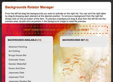 Background Rotator Manager